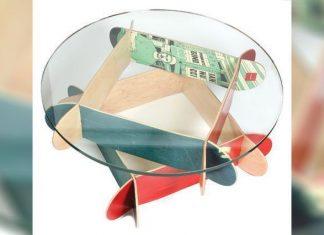 Мебели от скейт дъски
