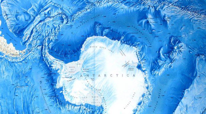 антарктида карта сегмент