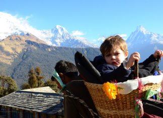 Най-малкият турист във Великобритания