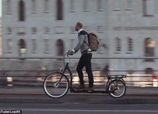 """""""Ходещ"""" велосипед"""