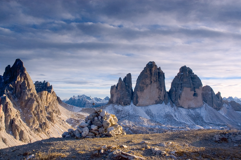 Скален масив Цима овесте ди лаверадо