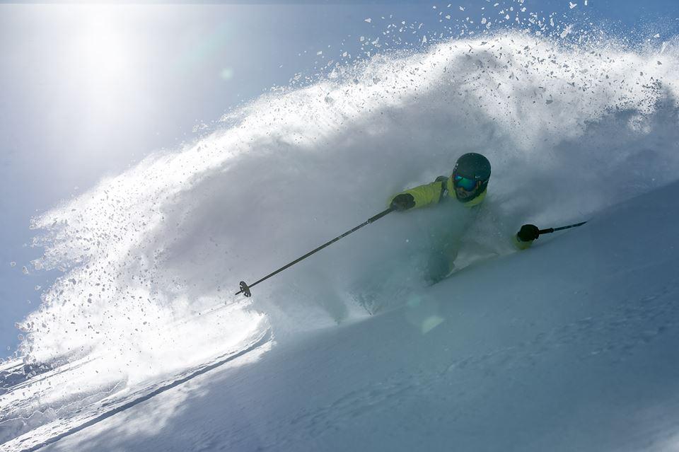 Сняг, фрийрайд, ски