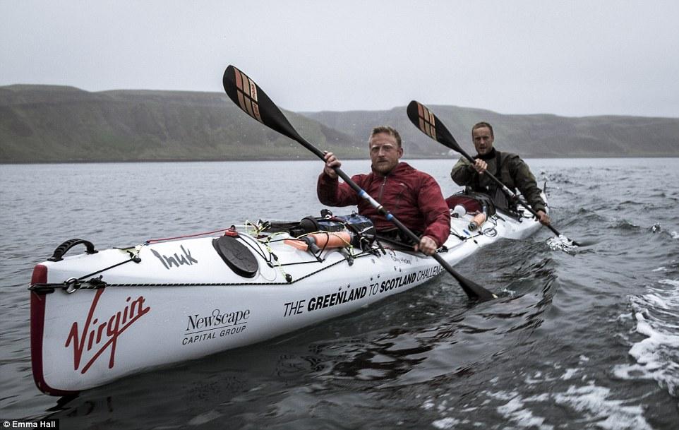 С каяк от Гренландия до Шотландия