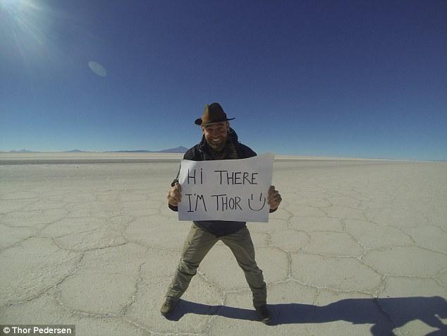 Да видиш целия свят без самолет