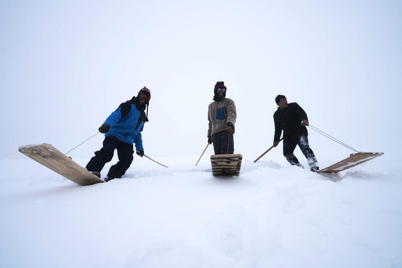 Древни сноубордове от Петран, Североизточна Турция