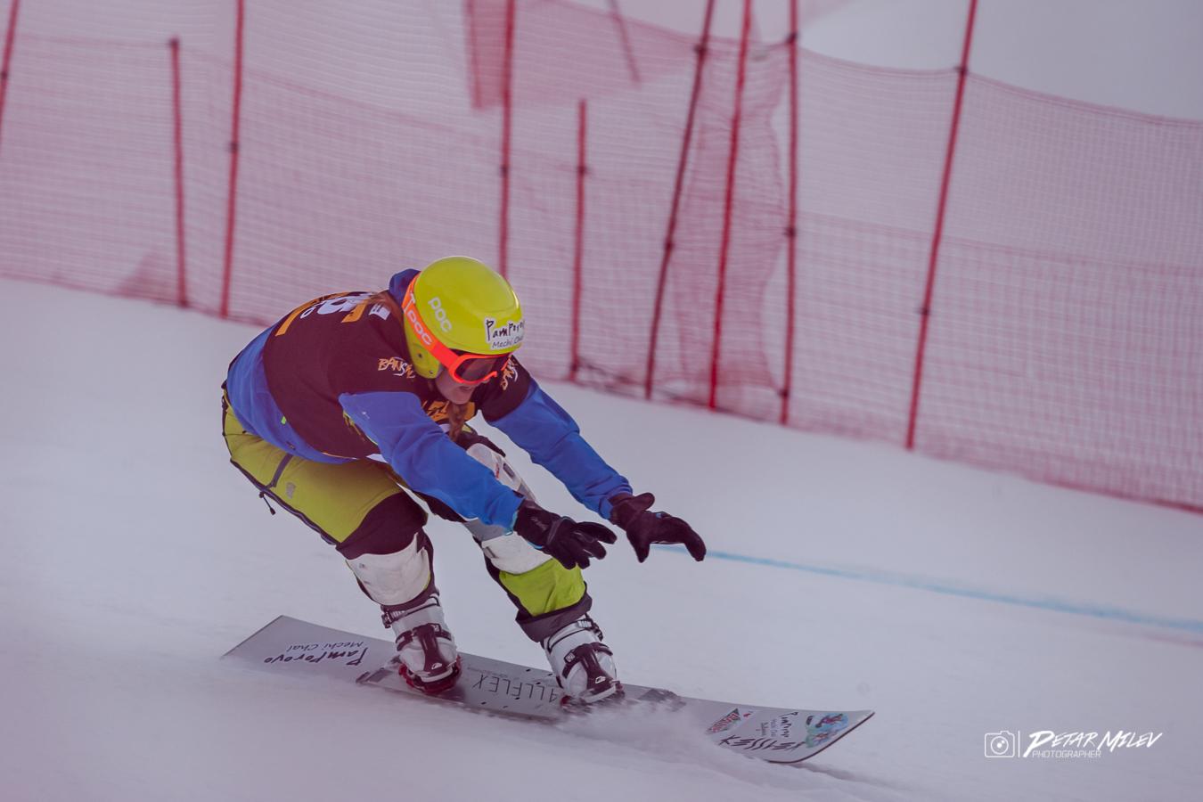 Теодора Пенчева паралелен гигантски слалом Световна купа сноуборд Банско