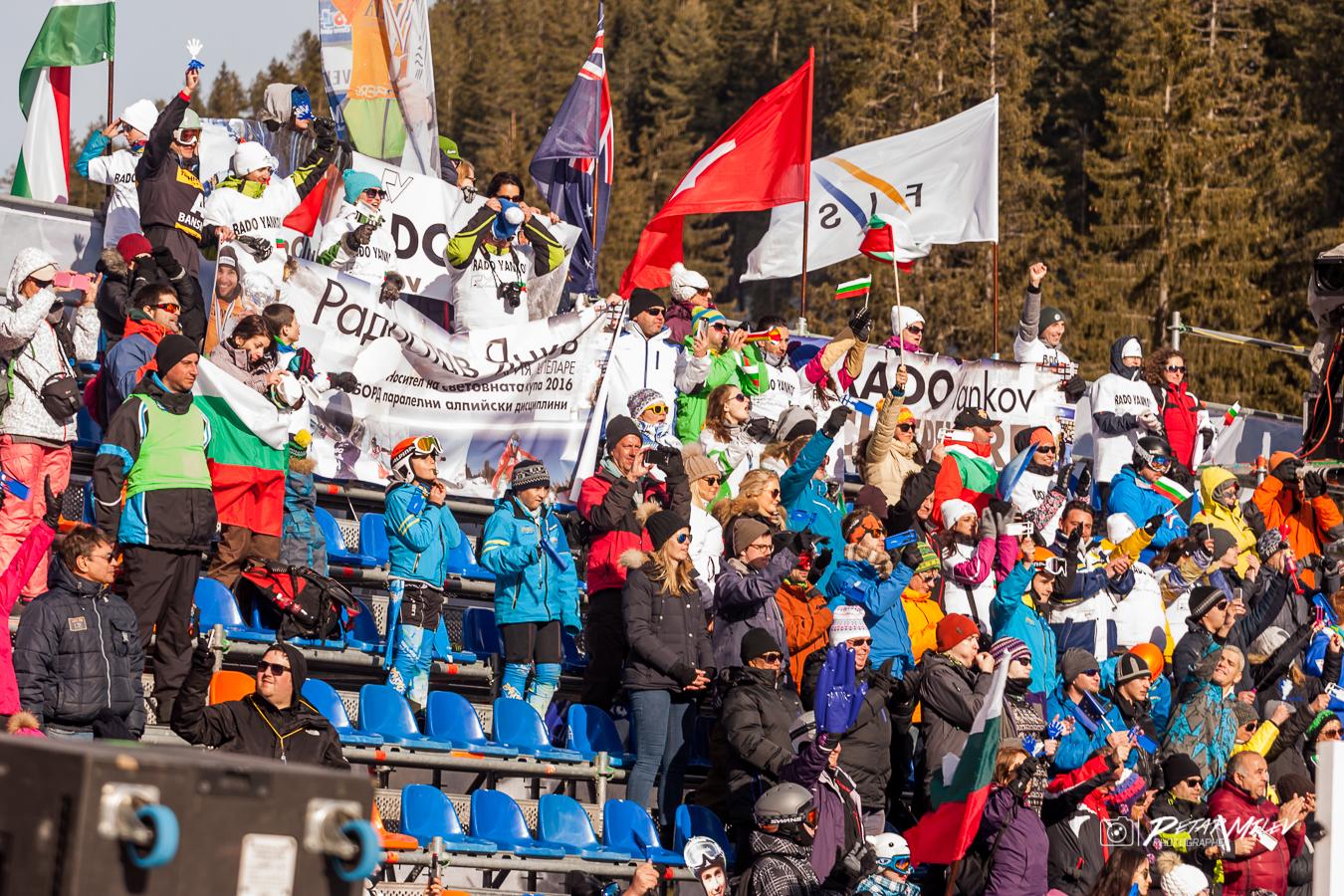 Световна купа сноуборд банско публика