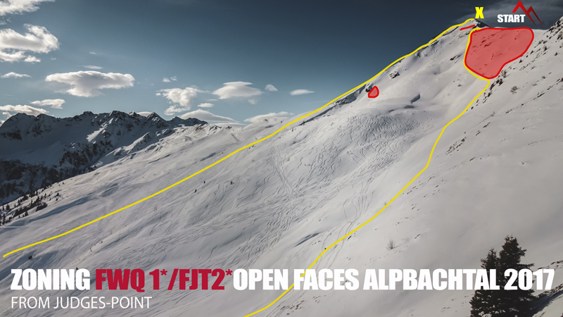 Теренът на Open Faces Alpbachtal