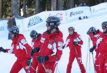 Демонстрационен Национален отбор на българските професионални ски инструктори