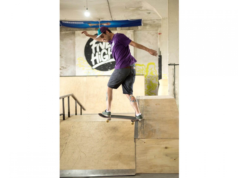 Скейт сесия в Five High