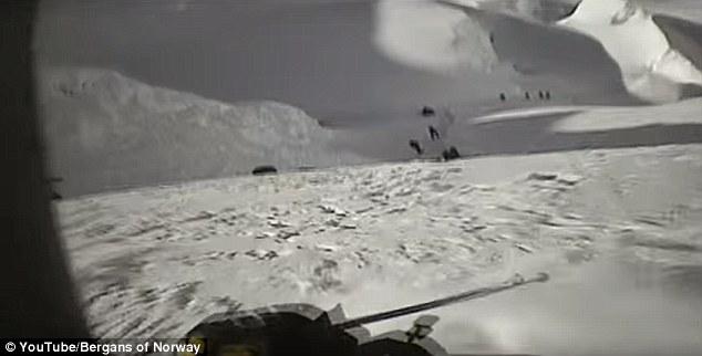 Вертикално спускане по Еверест