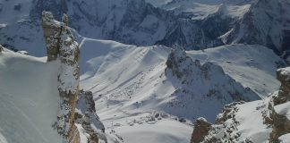 снежен кулоар