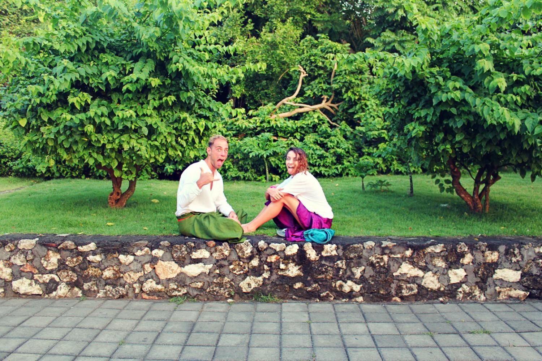 Бианка и Ники в Бали