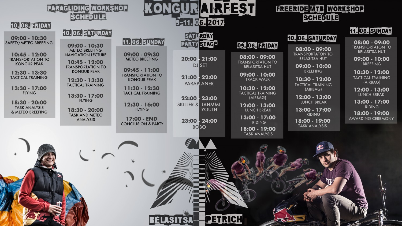 Програма за Kongur Air Fest 2017
