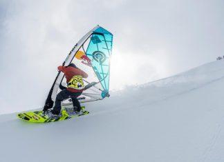 уиндсърф по снега