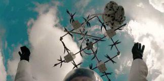 полет с дрон