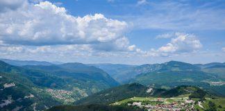 Изглед от плато Белинташ