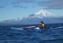 С каяци около Алеутските острови
