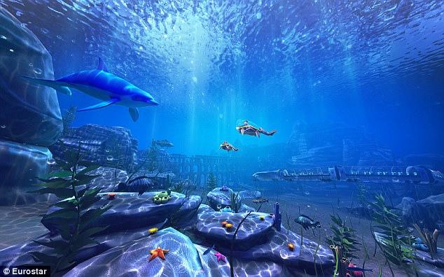 Виртуална разходка в океана