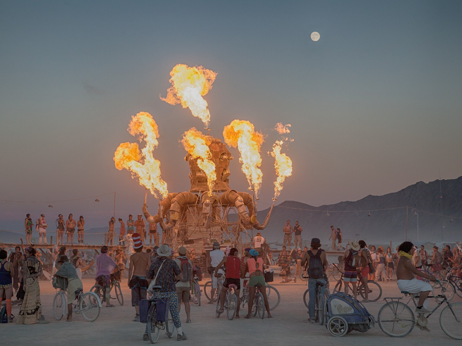 "Резултат с изображение за ""фестивал Burning Man в САЩ."""