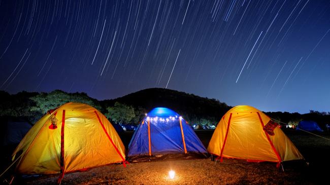 Персеиди, палатка