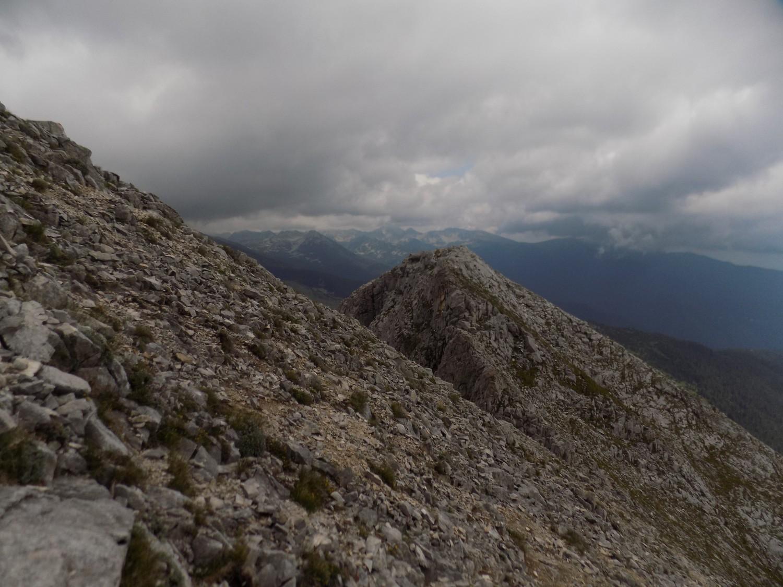 Пътят към връх Синаница