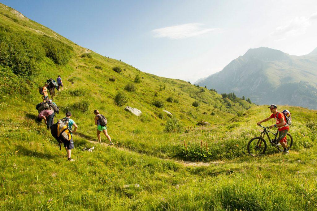 Планина, колела
