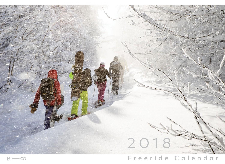 2018 Freeride Calendar.