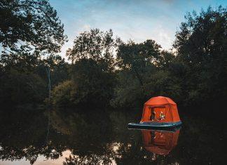 Плаваща палатка
