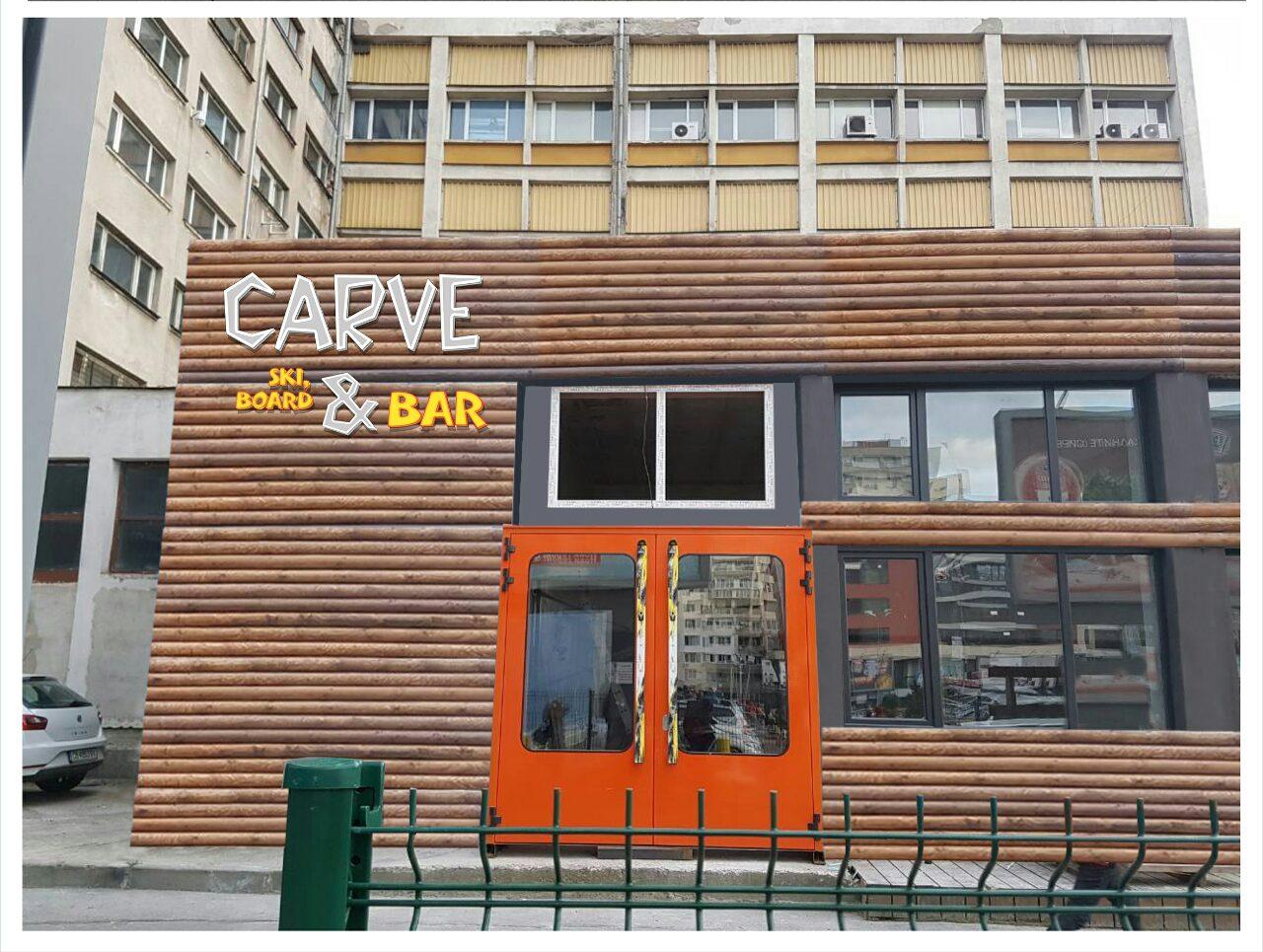 Carve Ski Board &Bar