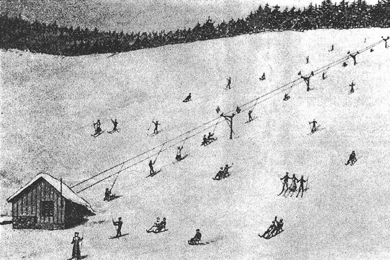 Роберт Уинтерхалдер - създателят на първия влек