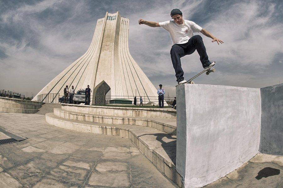 Скейт в Иран