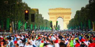 Маратонът в Париж
