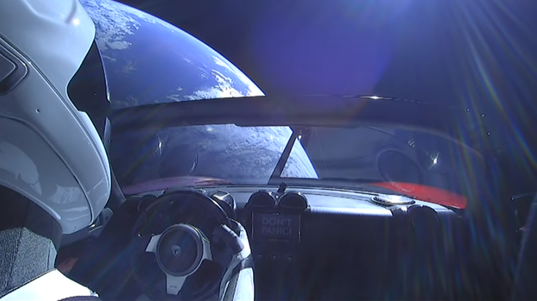 Starman, Falcon Heavy