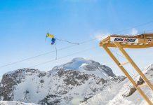 Бънджи върху ски/сноуборд