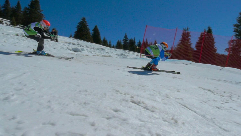 Състезание по ски крос за деца
