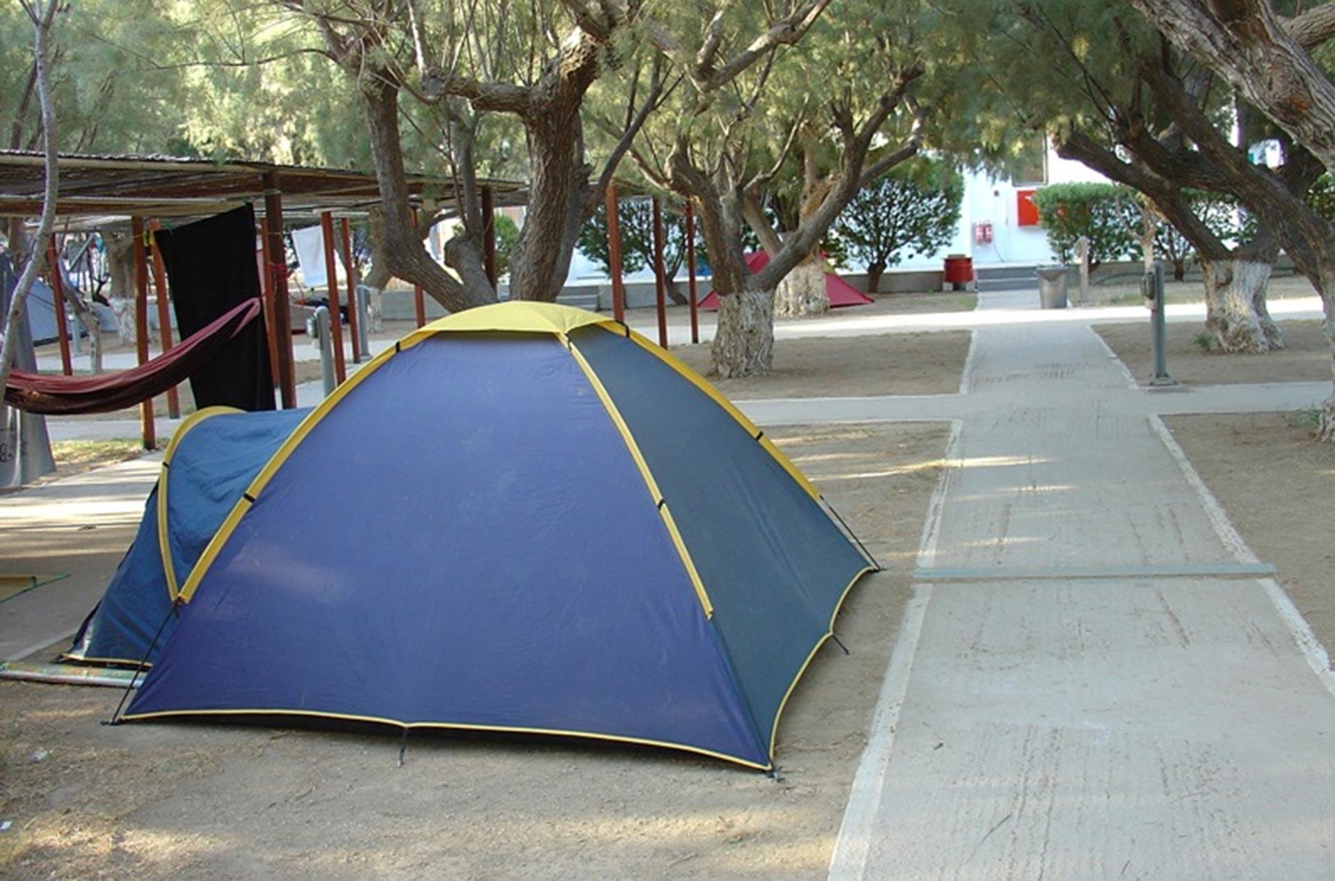 Къмпинг в Гърция
