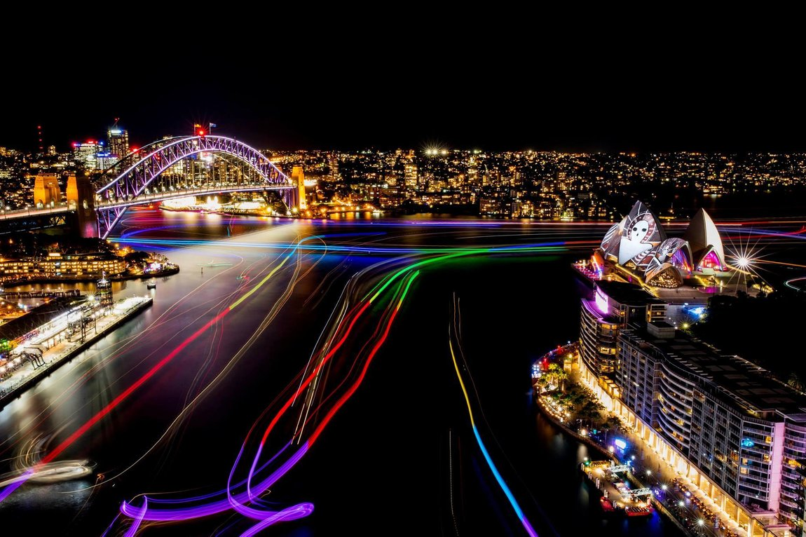 Делтапланеризъм в Сидни