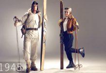 Еволюция на ски екипировката