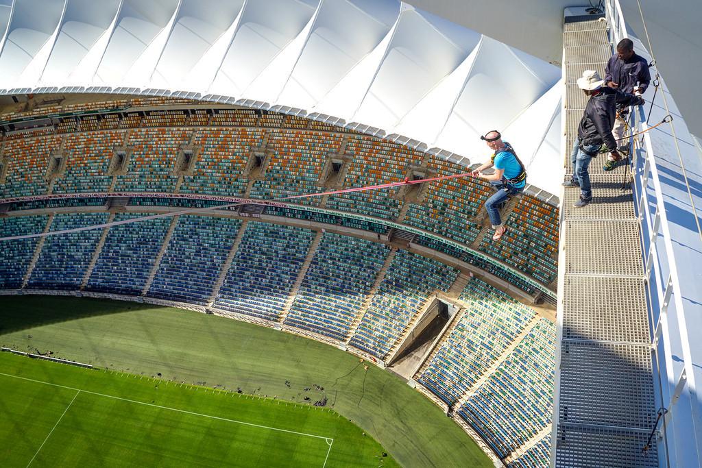 Най-високият скок пандюл в света