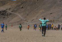 Футболен мач на КилиманджароФутболен мач на Килиманджаро