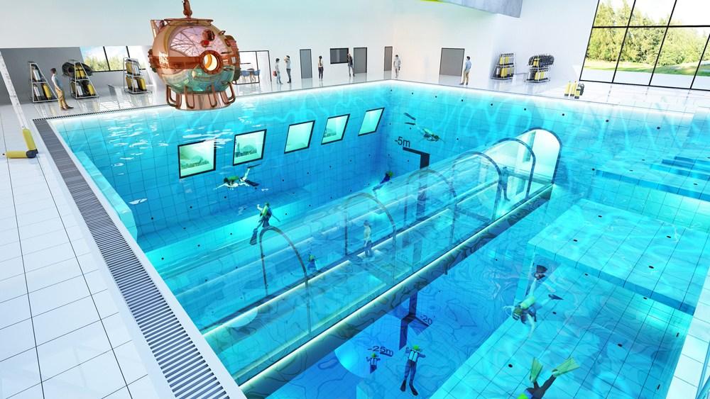 Deepspot - най-дълбокият басейн в света