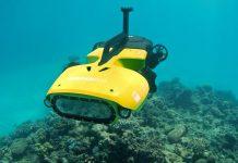 Робот, който защитава Големия Бариерен риф