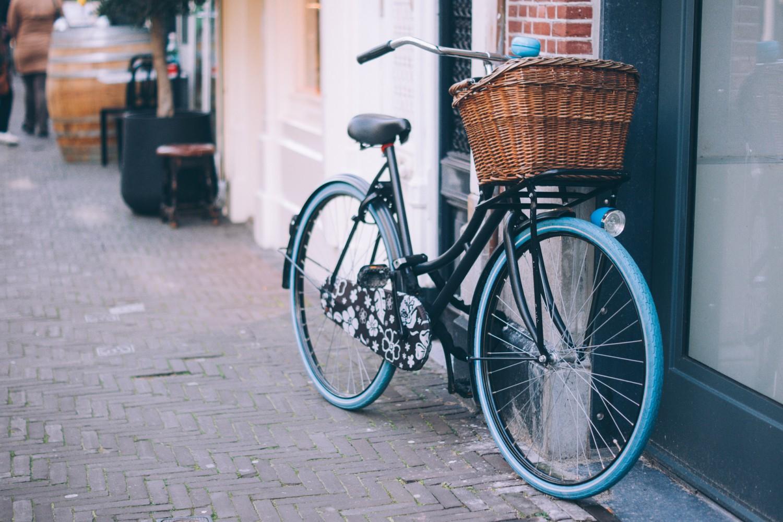 Каране на колело в града