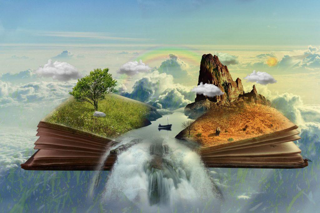 Планина, книга, фантазия