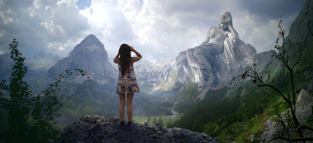Планина, фантазия