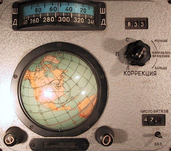 """Навигационното оборудване на """"Восток"""""""