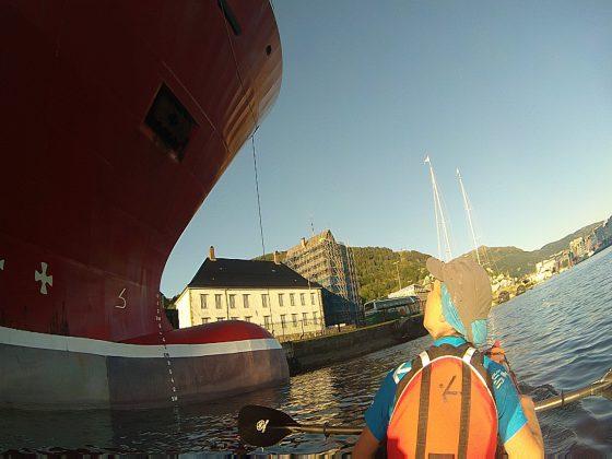 Четирима българи с каяк в Норвегия