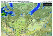 360° уикенд прогноза: 9-10 март