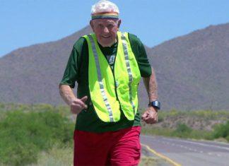 95-годишен американец прекосява САЩ с бягане